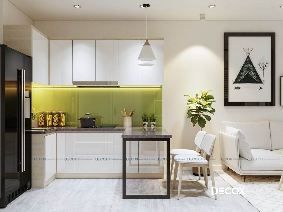 Cách chọn và bố trí bàn ăn phù hợp cho nhà bếp nhỏ