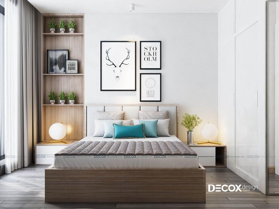 Cách trang trí nội thất phòng ngủ với 4 tông màu pastel