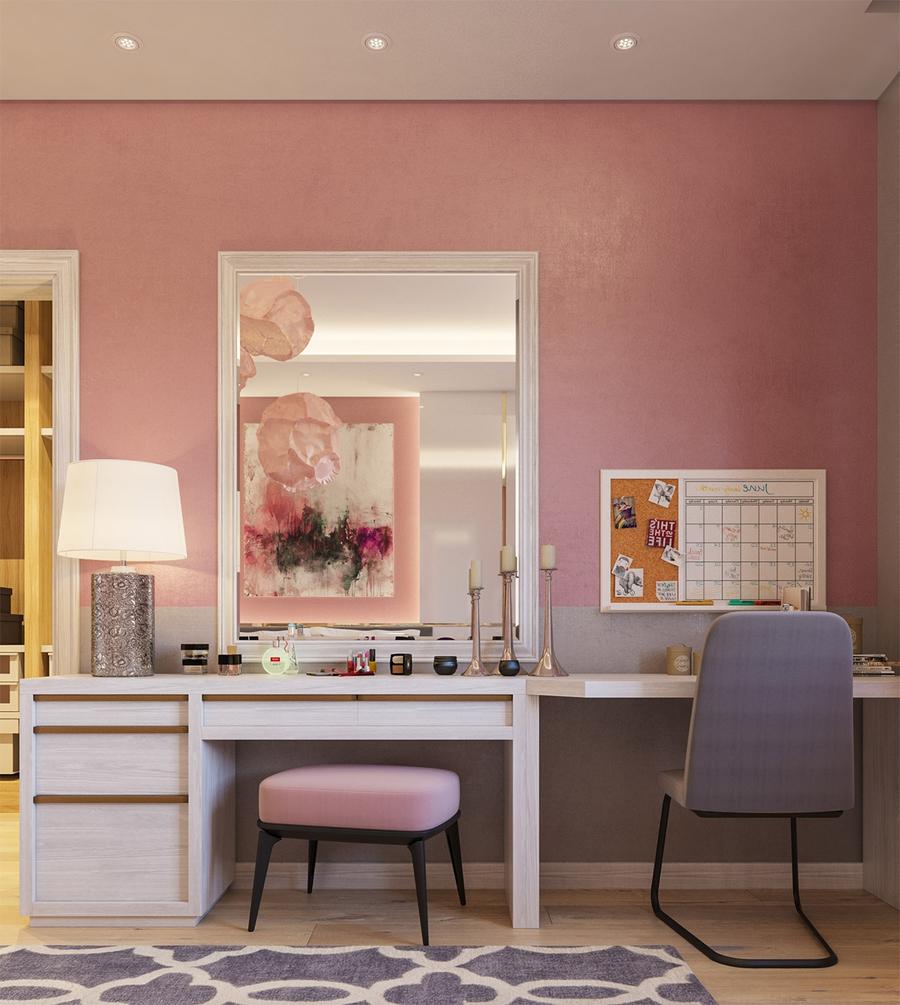 130+ mẫu bàn trang điểm đẹp hiện đại cho phòng ngủ làm nàng mê mẩn