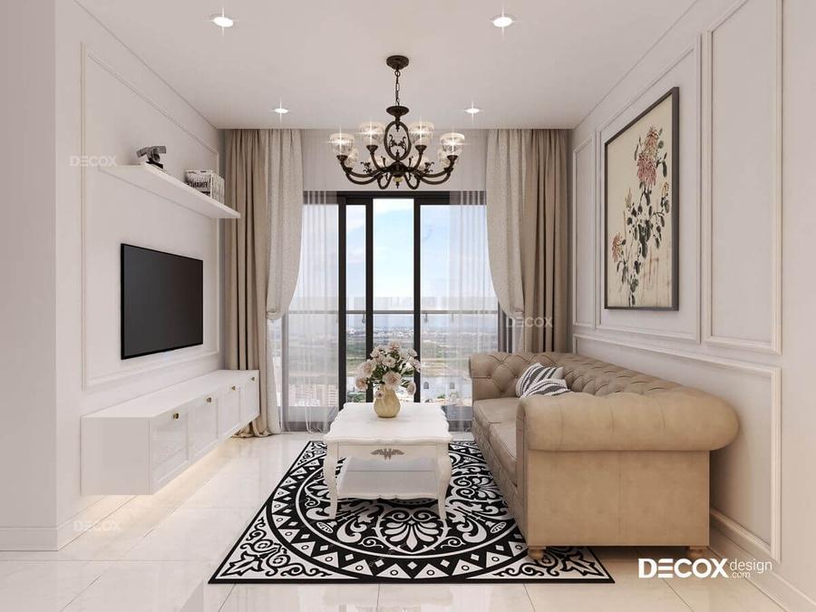 30+ mẫu đèn trang trí phòng khách đẹp lung linh giá tốt 2021