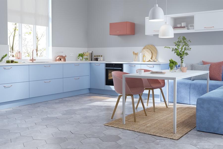 Cách chọn gạch lát nền phòng bếp đảm bảo giá trị thẩm mỹ lẫn phong thủy