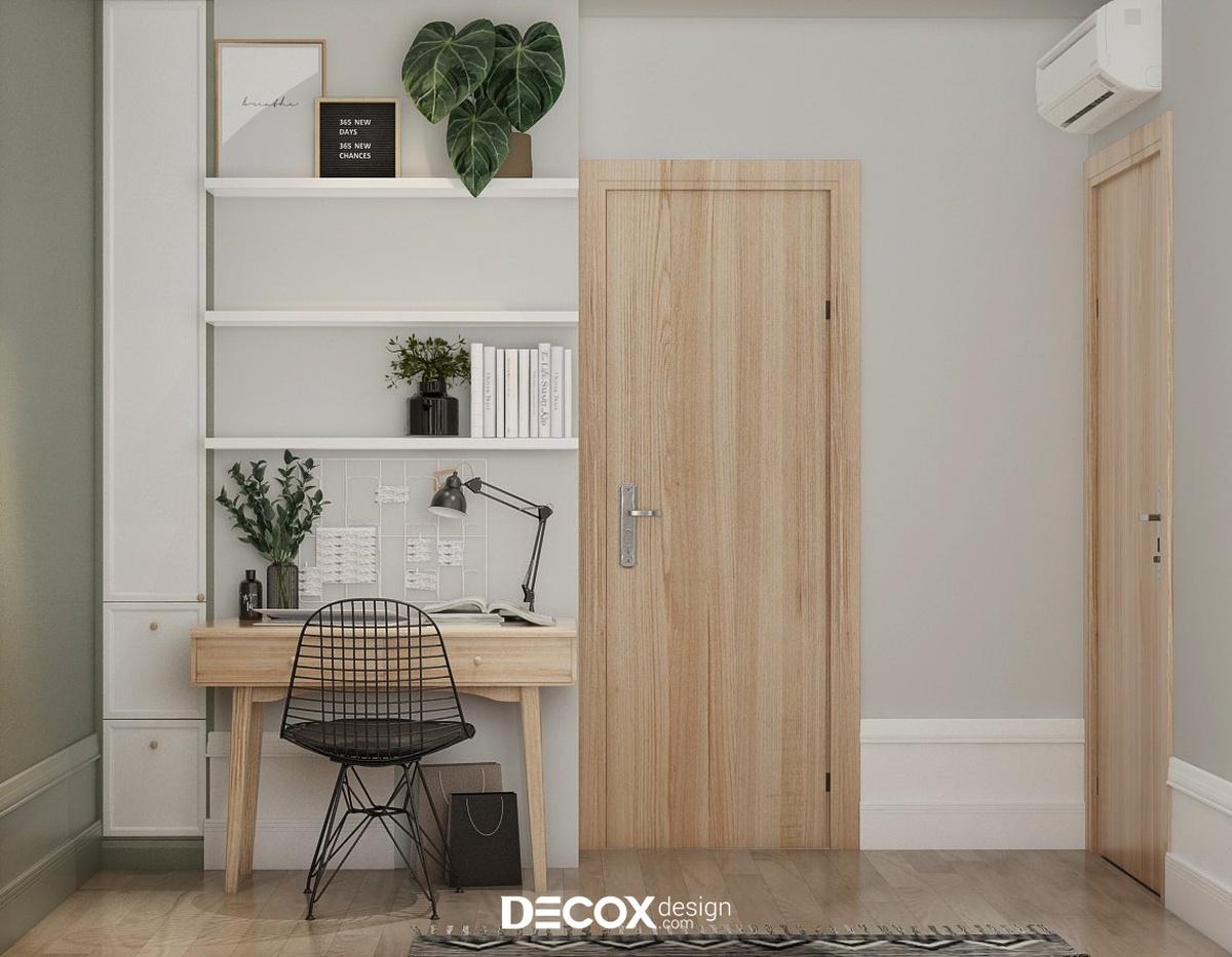 Thiết kế nội thất căn hộ Hado Centrosa 98m2 de20075tc