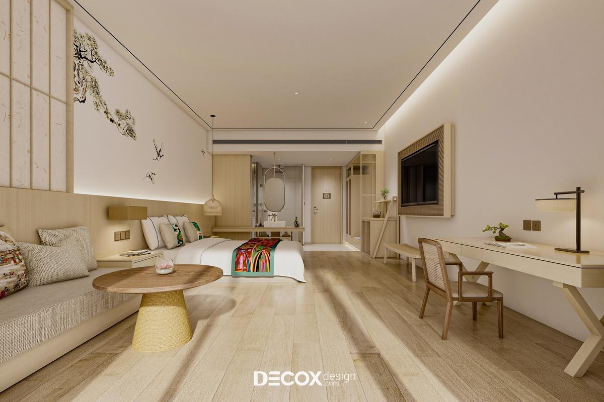 Nội thất Hotel Achilla 1560m2