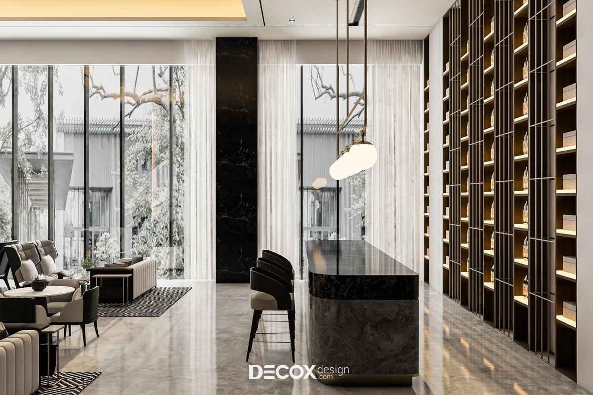 Nội thất Hotel Calchas 1300m2