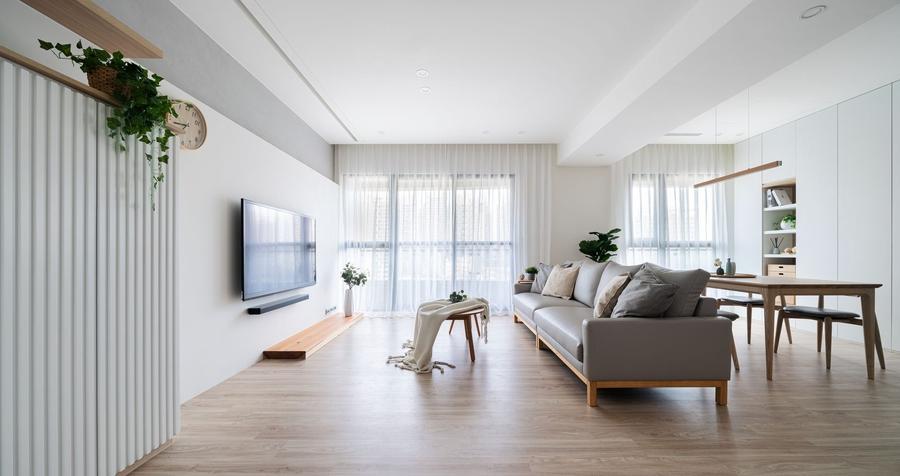 Chú ý chọn lựa cây xanh phù hợp theo diện tích phòng khách