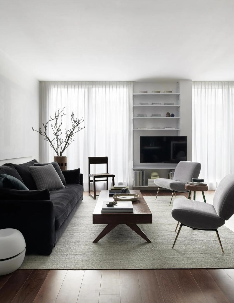 Lưu ý đến yếu tố phong thủy khi thiết kế, trang trí phòng khách đẹp