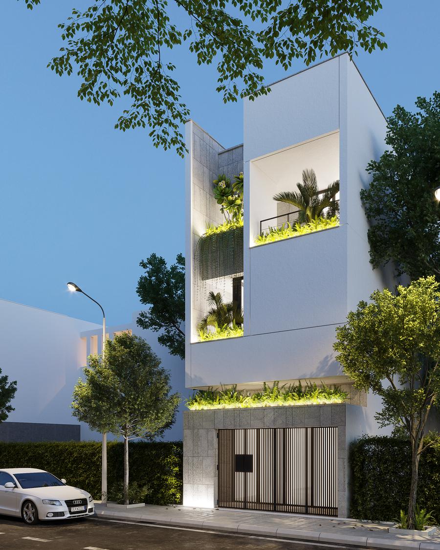 Tuyển tập 30+ mẫu nhà phố đẹp, hiện đại 2021 - Kinh nghiệm khi xây dựng nhà phố