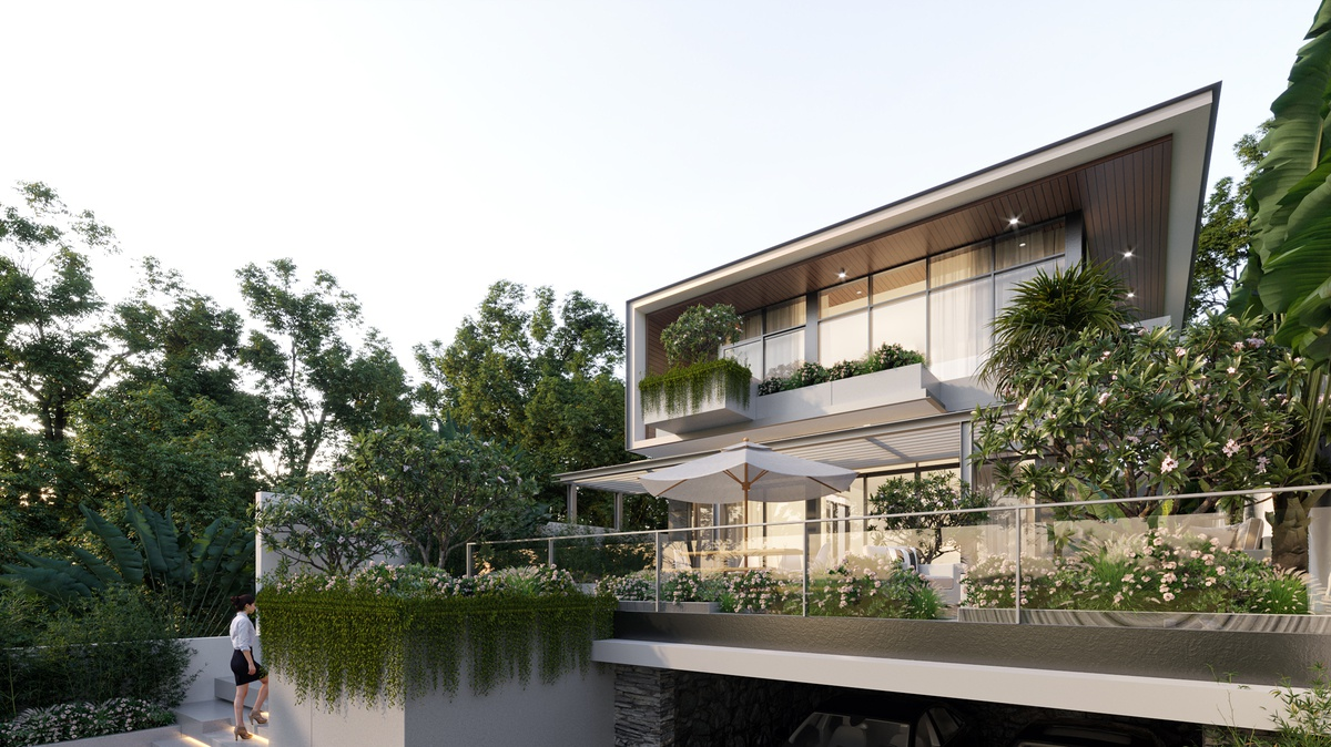 Thiết kế biệt thự Phú Quốc villa 1800m2