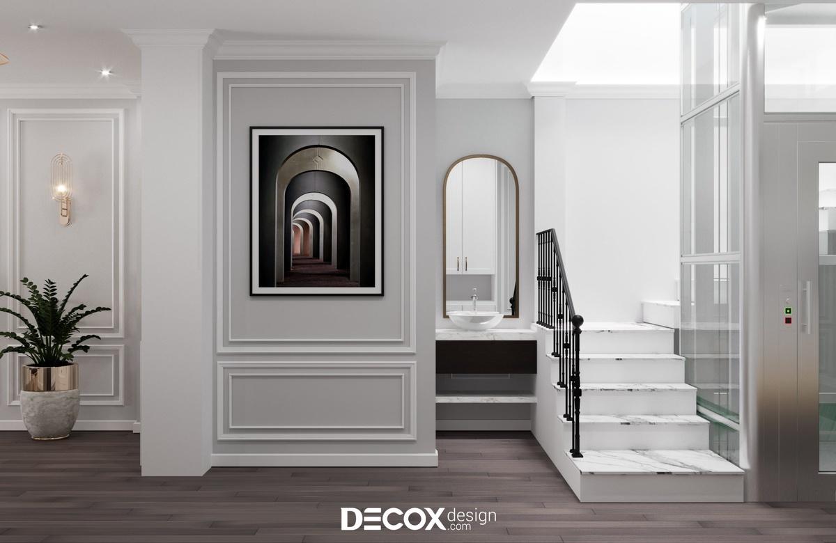 Thiết kế kiến trúc - nội thất nhà phố 250m2 de20077