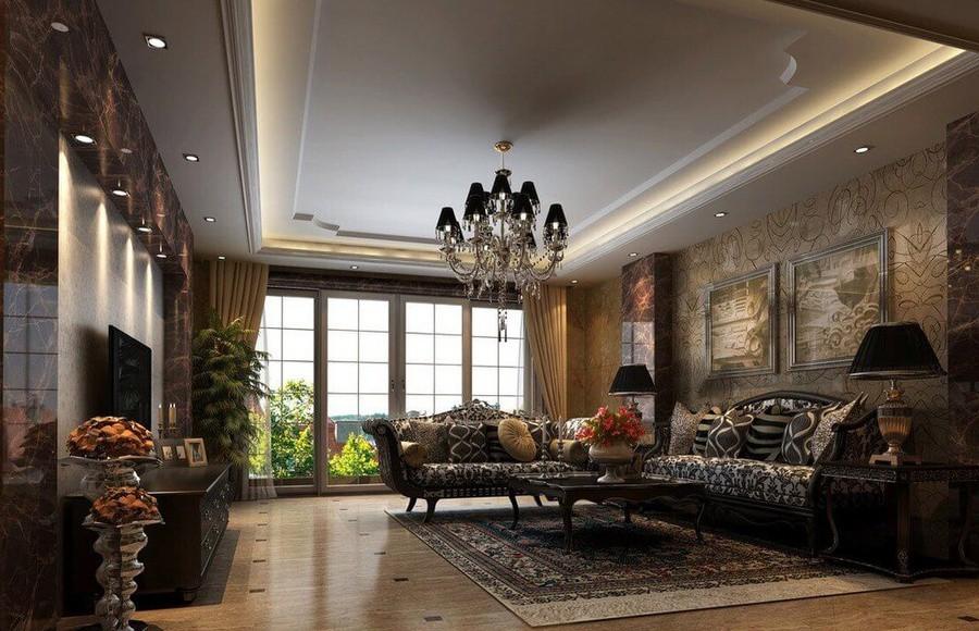 Mẫu thiết kế nội thất chung cư theo phong cách tân cổ điển ấn tượng