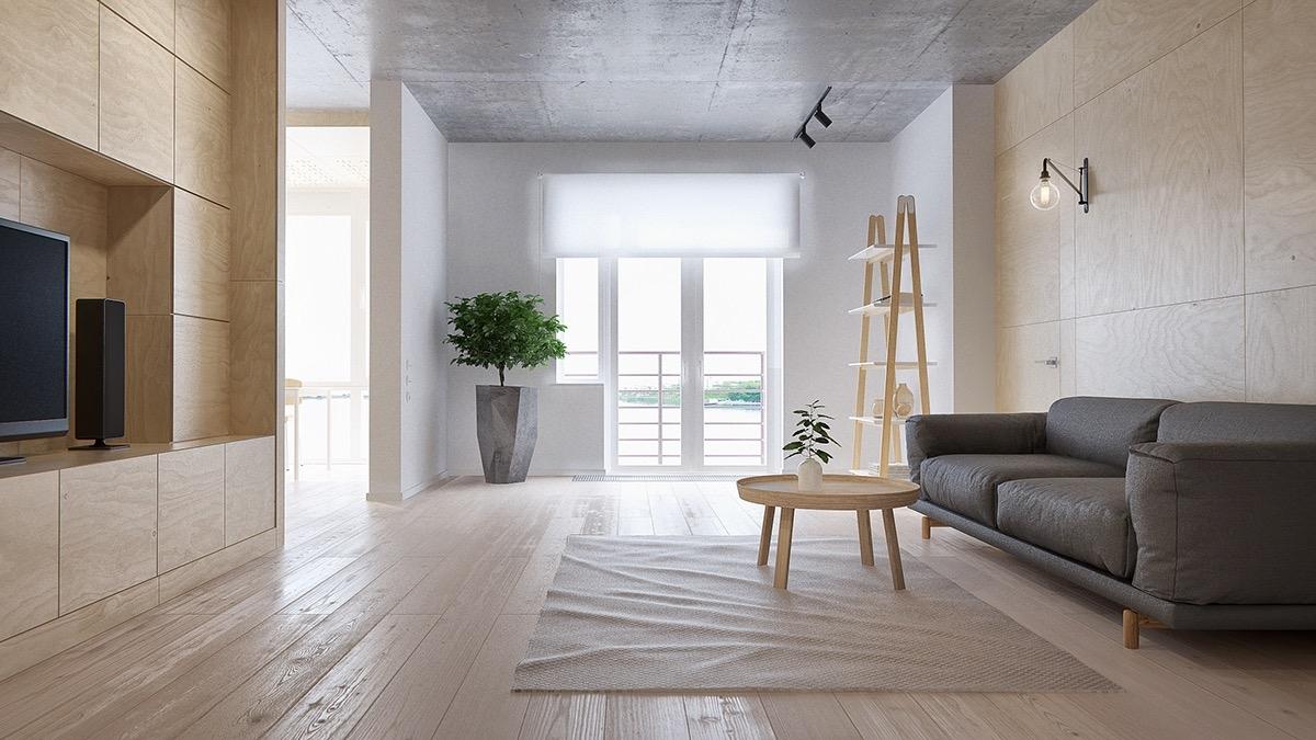 101+ Mẫu kệ trang trí phòng khách đẹp & phong cách xu hướng 2021