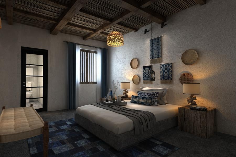 Trang trí phòng ngủ theo phong cách Trung Quốc với những phụ kiện nhỏ xinh