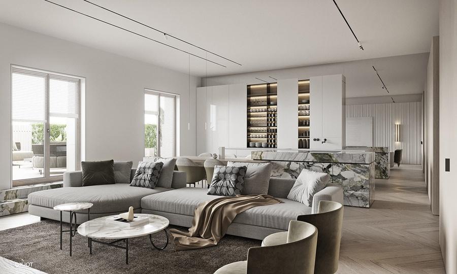 80+ mẫu rèm cửa phòng khách đẹp, hiện đại, sang trọng năm 2020