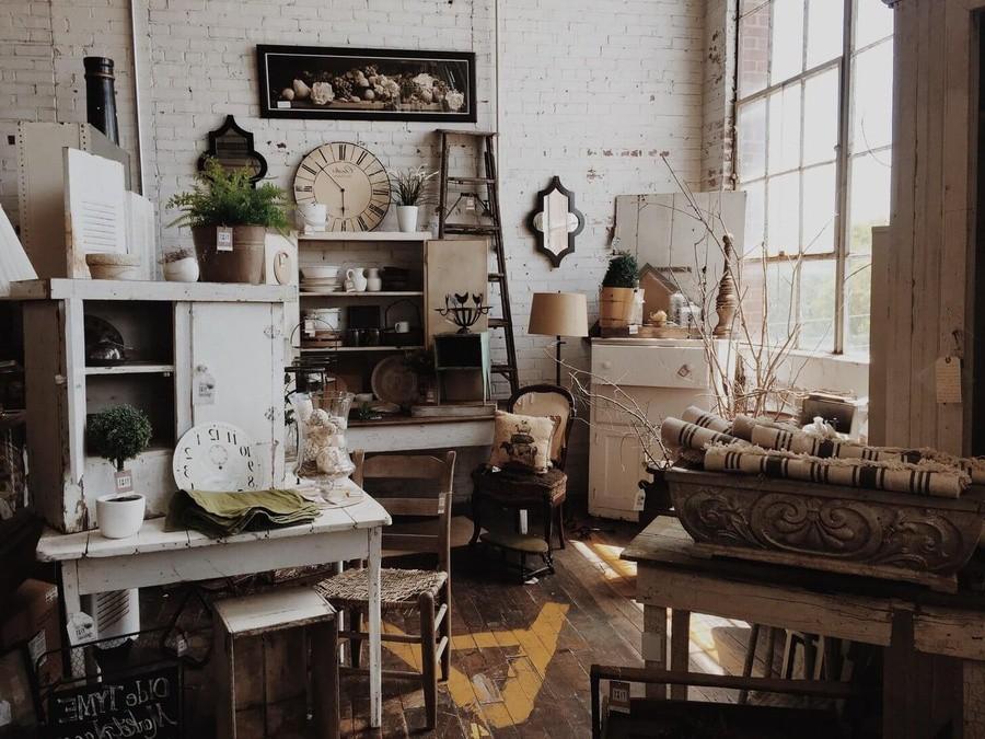 Đặc trưng của phong cách vintage trong thiết kế nội thất