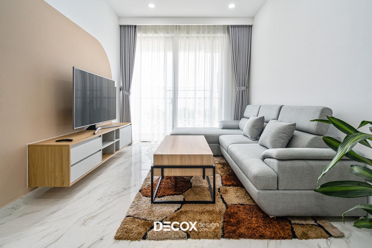 Bí quyết chọn và phối màu gạch ốp tường phòng khách đẹp nhất 2020