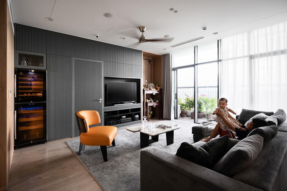 Thi công nội thất căn hộ The Zen Gamuda 185m2