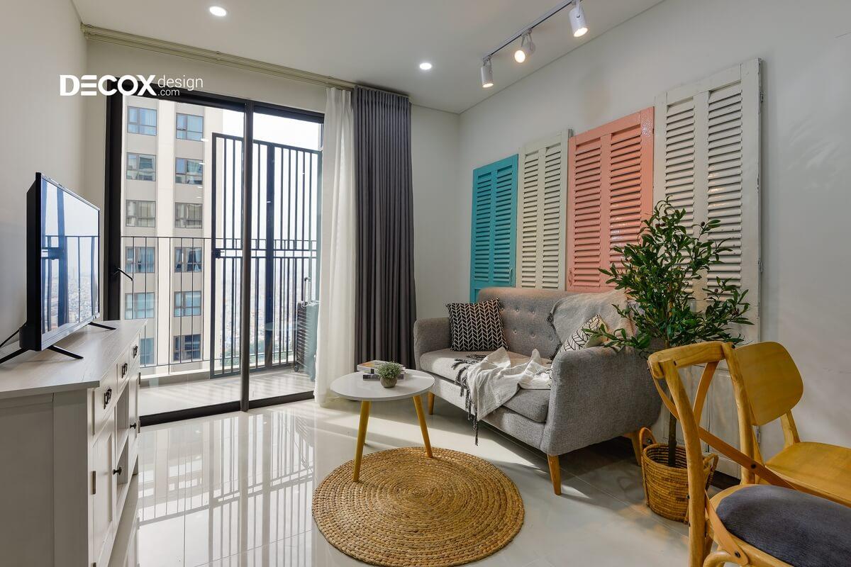 20 ý tưởng trang trí thiết kế phòng khách chung cư nhỏ mà đẹp