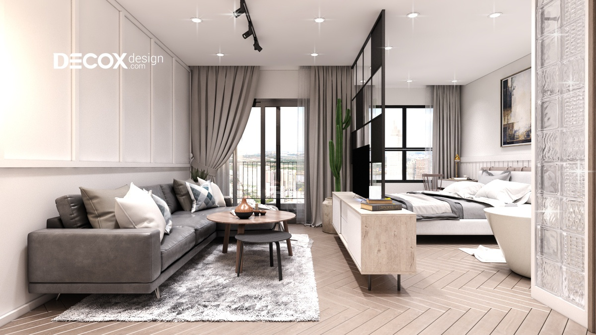"""10 Mẫu nội thất căn hộ nhỏ đẹp """"không góc chết"""""""