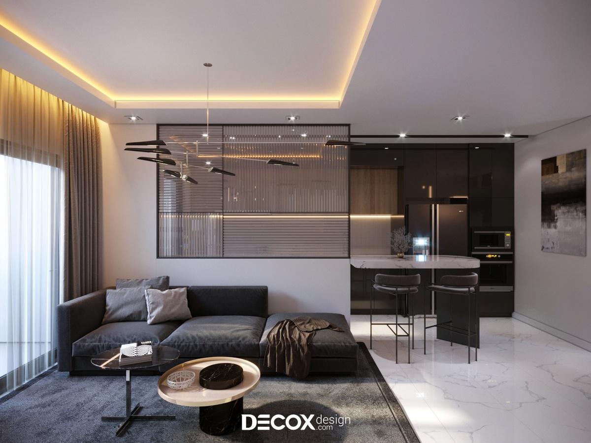 Chi phí thiết kế nội thất căn hộ 3 phòng ngủ khoảng bao nhiêu?