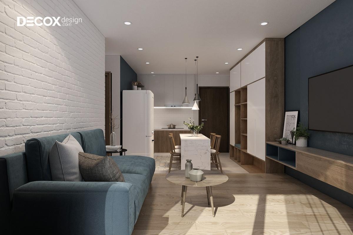 20 cách trang trí tường phòng khách đẹp với những món đồ đơn giản