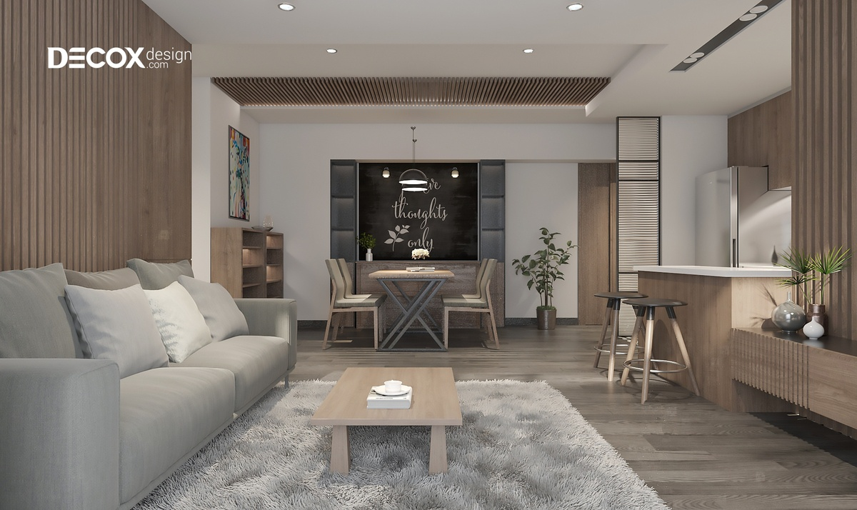 Chọn đơn vị thiết kế thi công nội thất chung cư uy tín tại TP.HCM