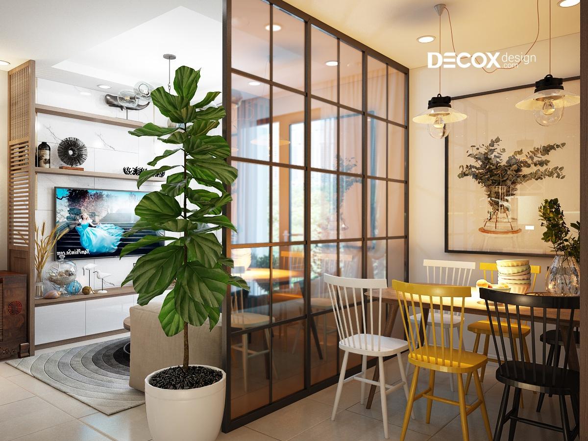 90+ mẫu vách ngăn phòng khách đẹp tiện ích được ưa chuộng nhất 2020