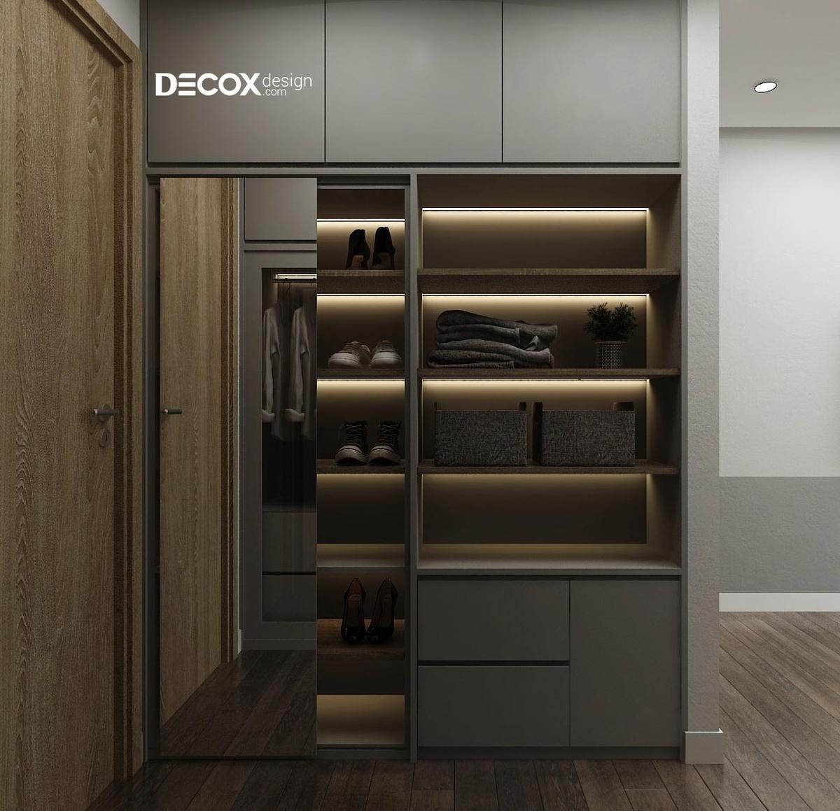 Tủ âm tường phòng ngủ đẹp - sự lựa chọn hoàn hảo để tiết kiệm không gian