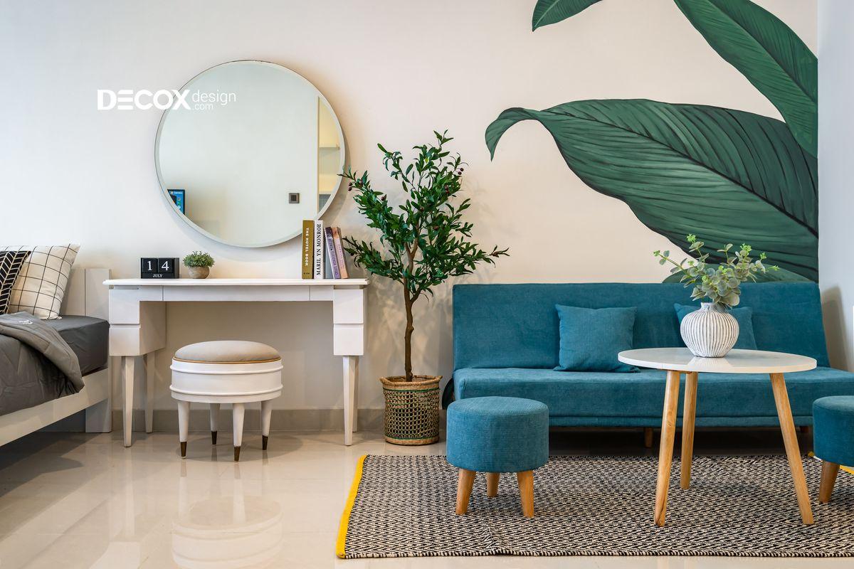 10 Mẫu nội thất căn hộ nhỏ đẹp