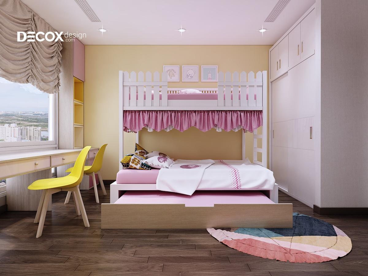 25+ mẫu thiết kế nội thất phòng ngủ giường tầng đẹp - 2019