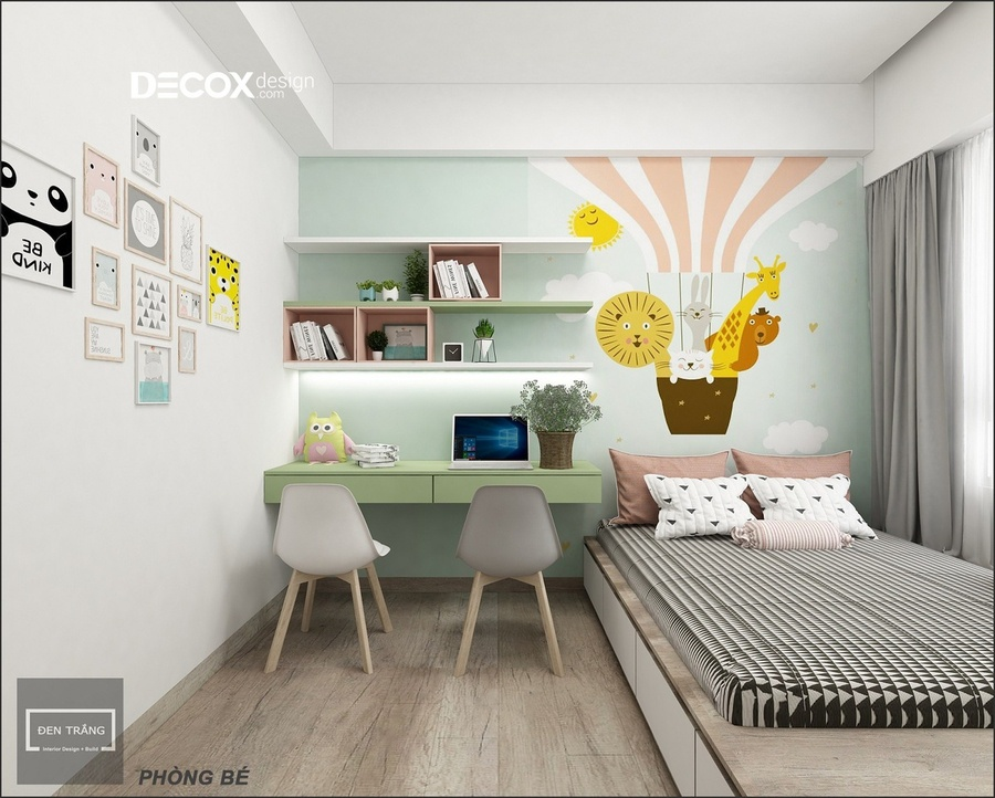20+ mẫu thiết kế nội thất phòng ngủ bé trai đẹp và ấn tượng năm 2019