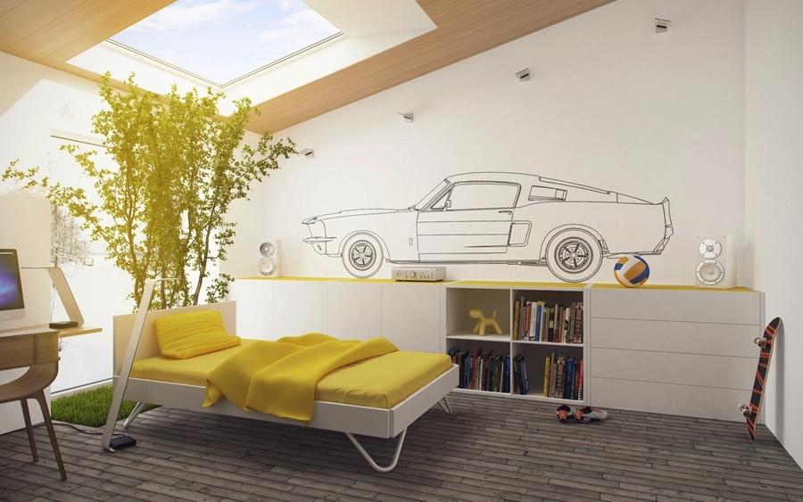 50 mẫu tranh vẽ tường phòng ngủ đẹp cho không gian thêm ấn tượng