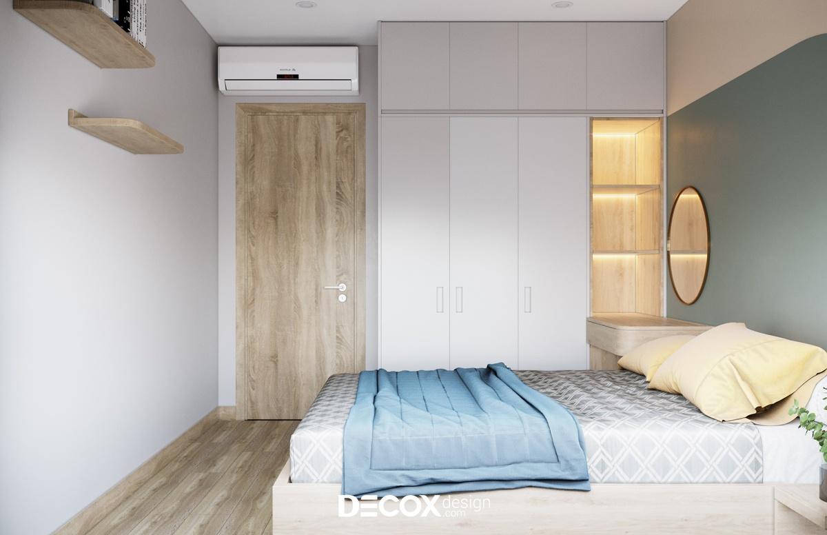Thiết kế nội thất căn hộ Vinhomes Grand Park 55m2 de20057