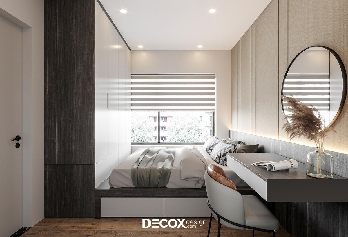 [2021] Bản vẽ, phương án và 20+ mẫu thiết kế phòng ngủ nhỏ 10m2 giá rẻ