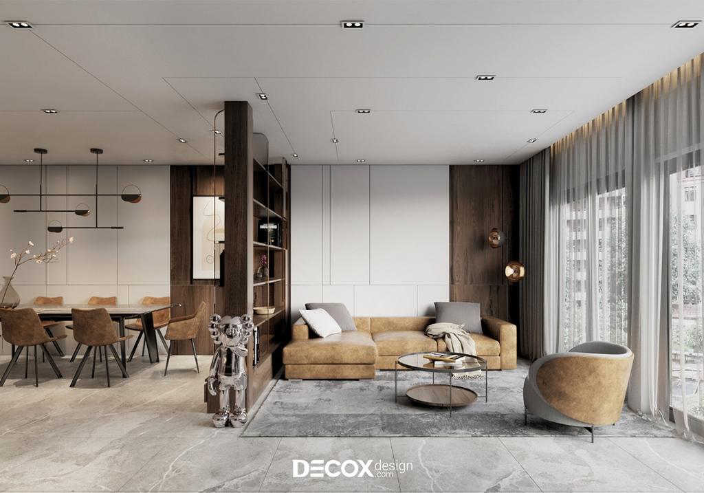 [Tư vấn] Chọn mẫu gạch lát nền phòng khách đẹp chuẩn GU năm 2020